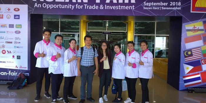 คว้ารางวัลชนะเลิศ ASEAN Cooking Contest งาน ASEAN FAIR 2018