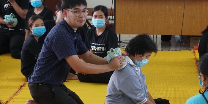 ฝึกอบรมแรงงานด้วยภูมิปัญญาแพทย์แผนไทยและสมุนไพรท้องถิ่น